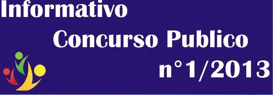 9ª Chamada de convocação do Concurso Público Edital 01-2013.