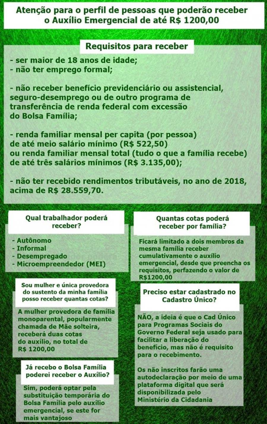 COMUNICADO -DEPARTAMENTO DE ASSISTENCIAL SOCIAL