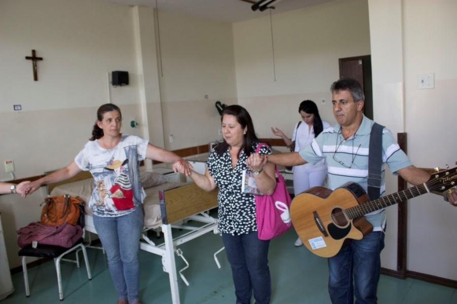 Ação Voluntária emociona Hospital Municipal