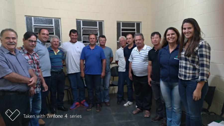 Reunião com Pesquisadores da EPAMIG e produtores de trigo de Carandaí