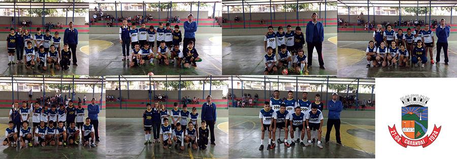 Núcleo de Carandaí recebe equipes da cidade para amistoso de futsal